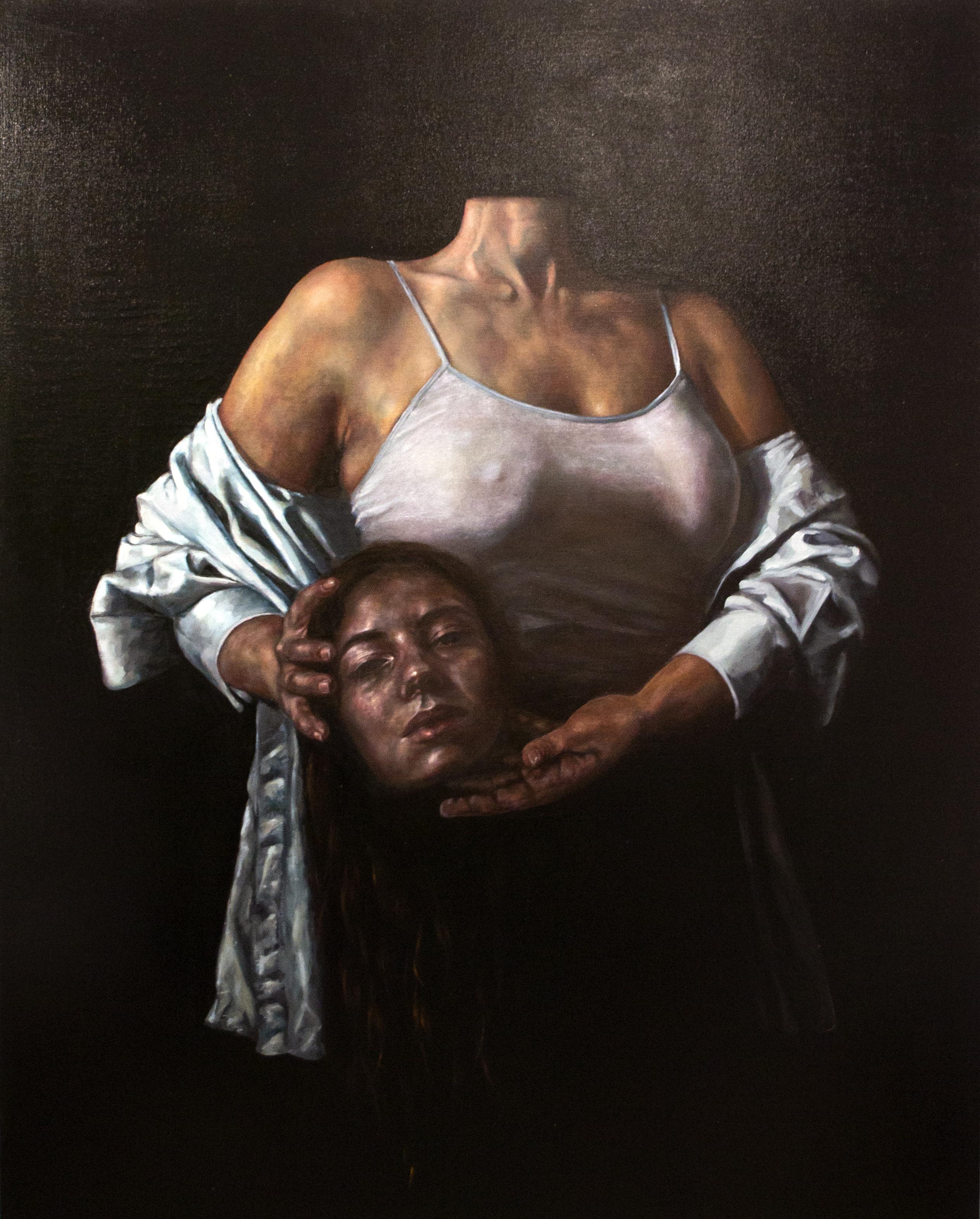 ATELIER N°5-ATELIER PANTHERA - Elvire Gender- Autoportrait à la tête coupée