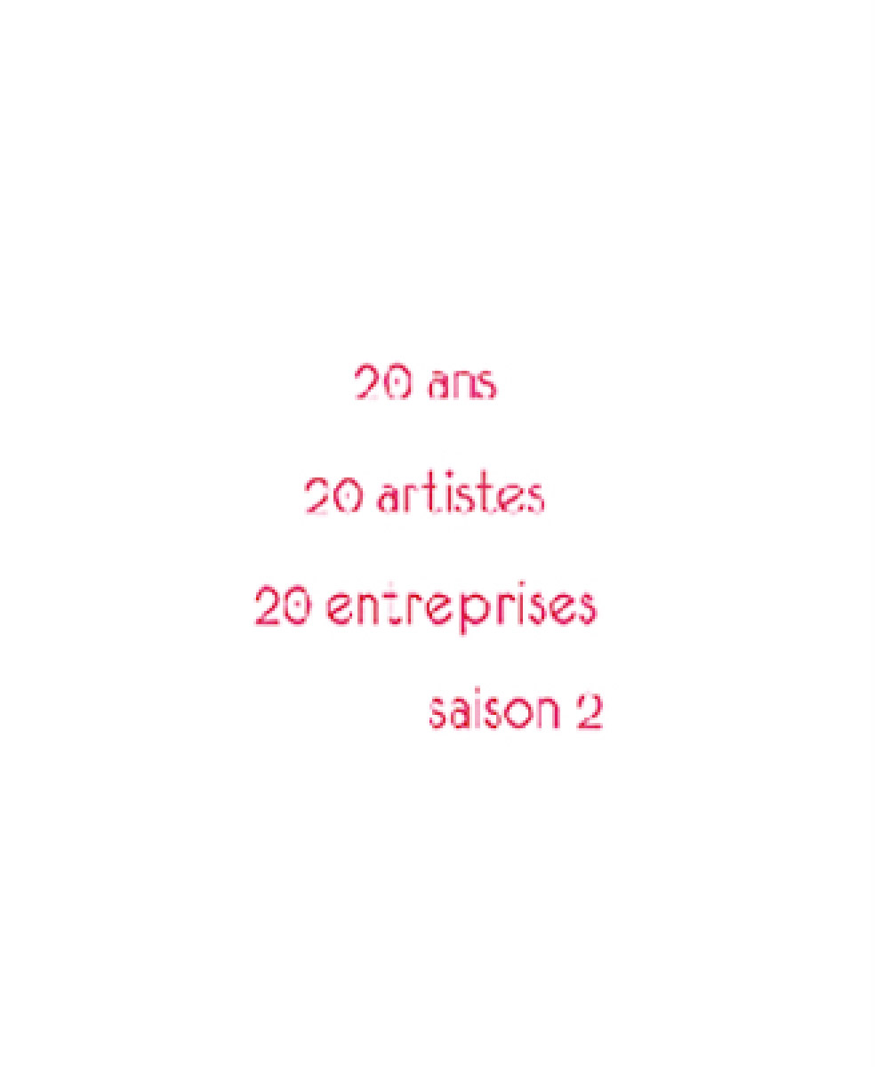 20 YEARS : 20 ARTISTS – 20 ENTREPRISES : SAISON 2