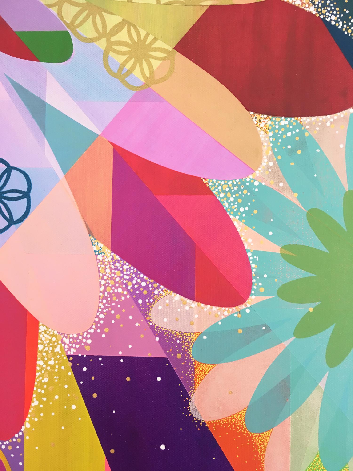 ATELIER n°27-ATELIER GALERIE POP MIN- ALEXANDRA  - Le présent, et le joyau de l'avenir