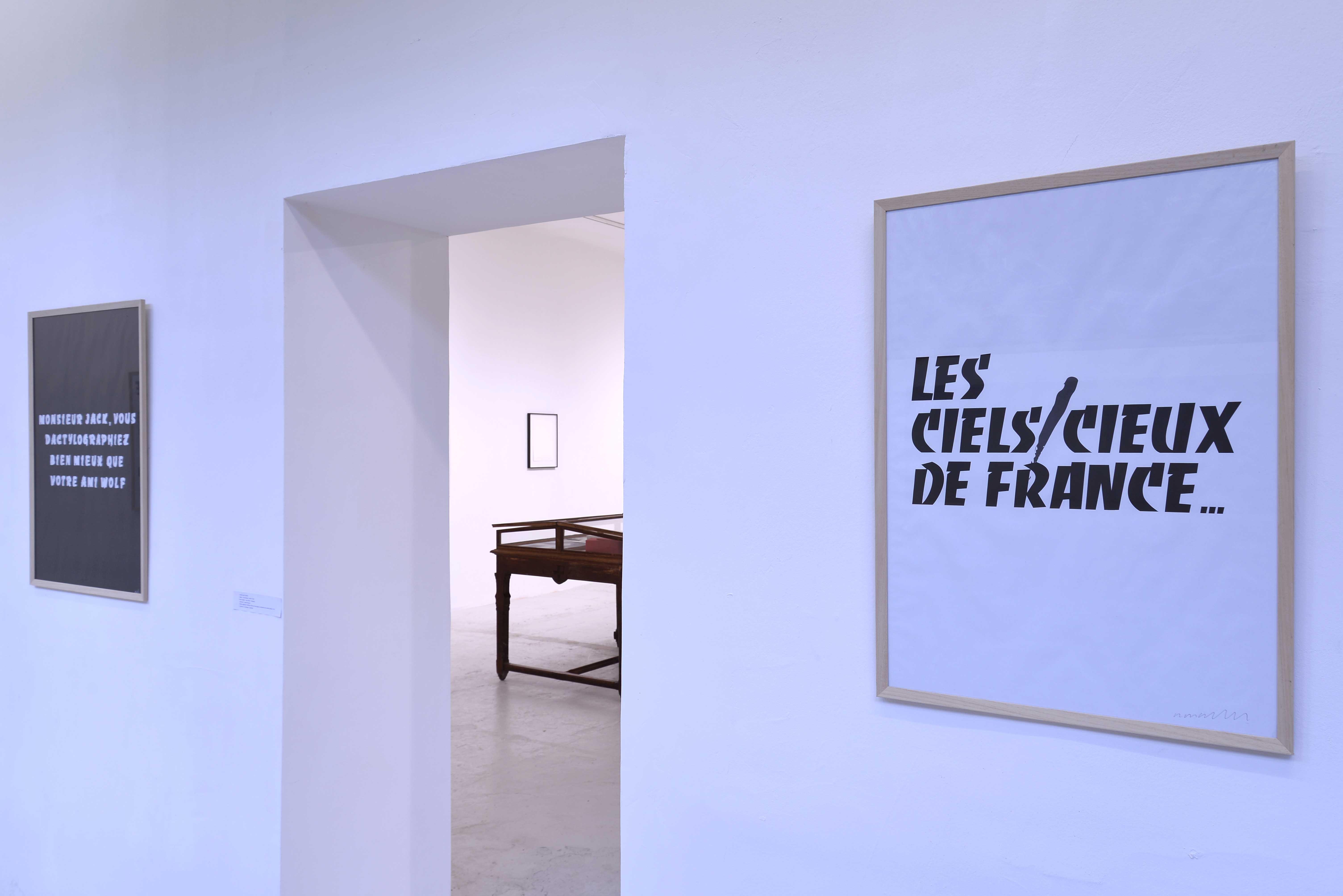 Affiches à titre en hommage au centenaire de Excoffon Edition 1: 10 Collection La Fabrique - Gensollen, À l'heure du dessin, 6ème temps, Tracé - 3 - Château de Servières - © Aurélien Meimaris