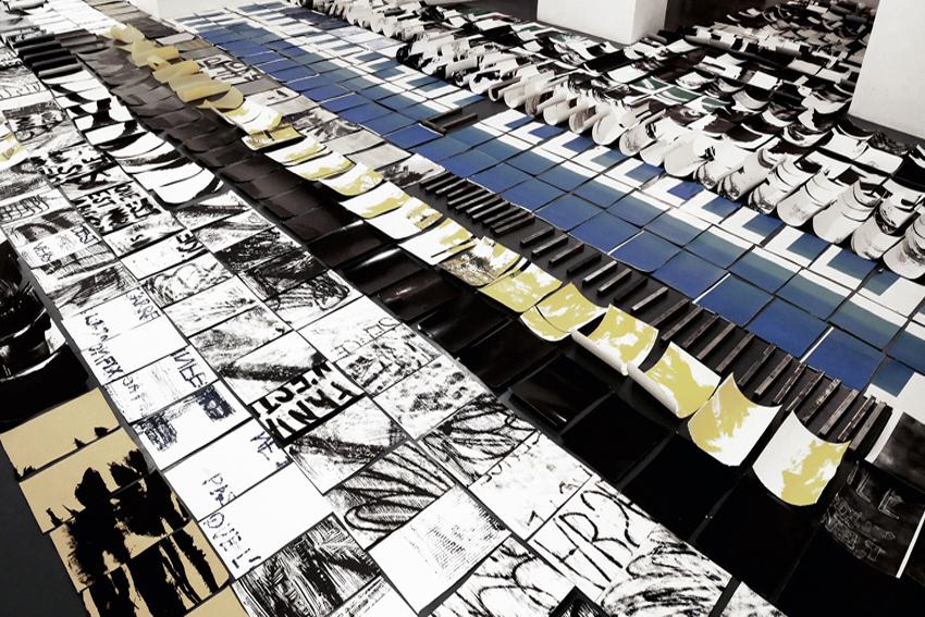 Alice Griveau, Installation