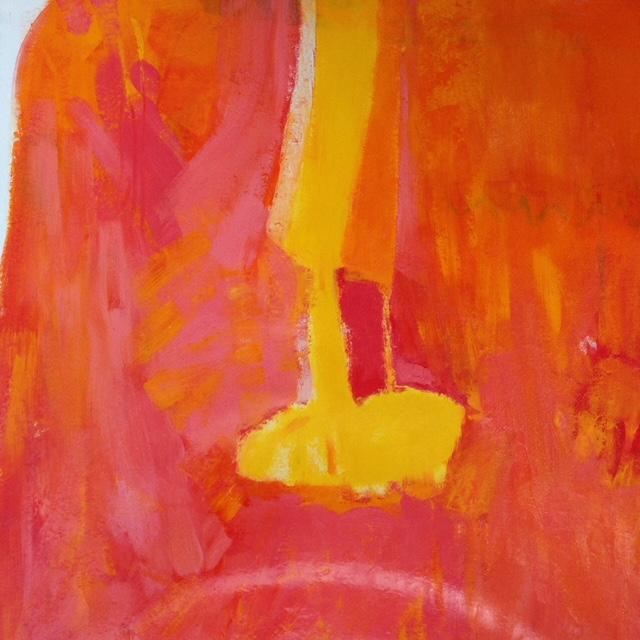 Aude Azaïs, Sans titre 1m5 x 1m4 Tecnique - huile