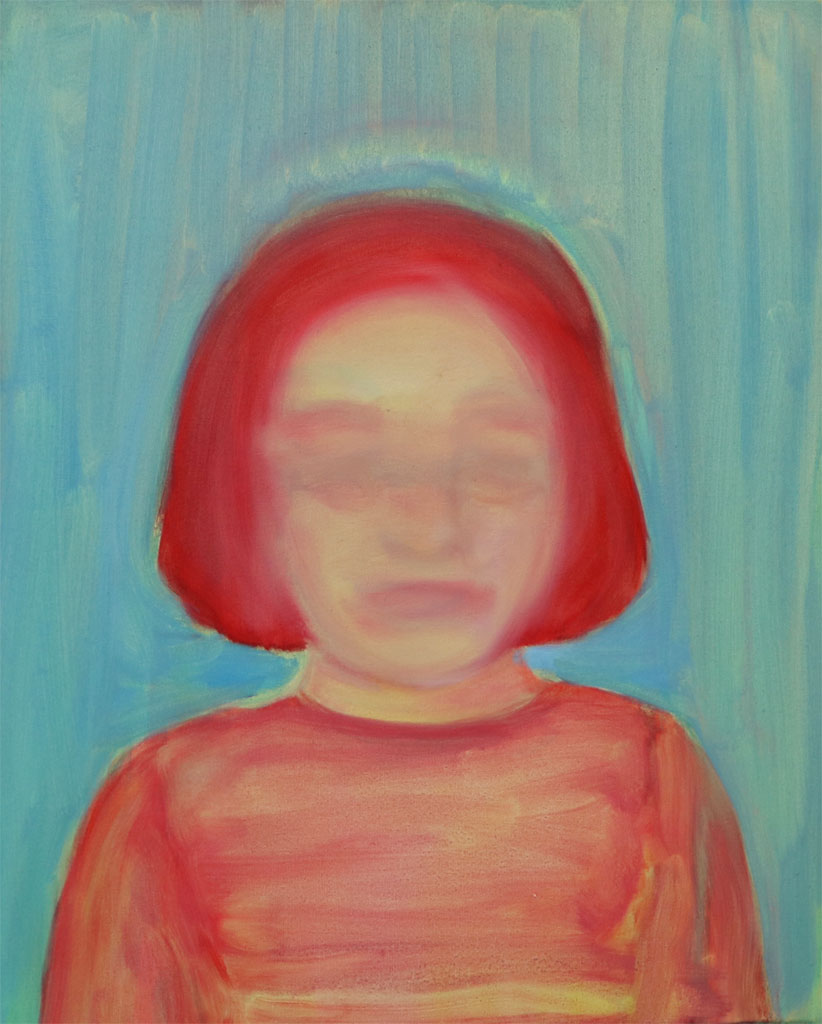 Blandine Herrmann, Sans titre,45x56cm,huile sur toile, 2019