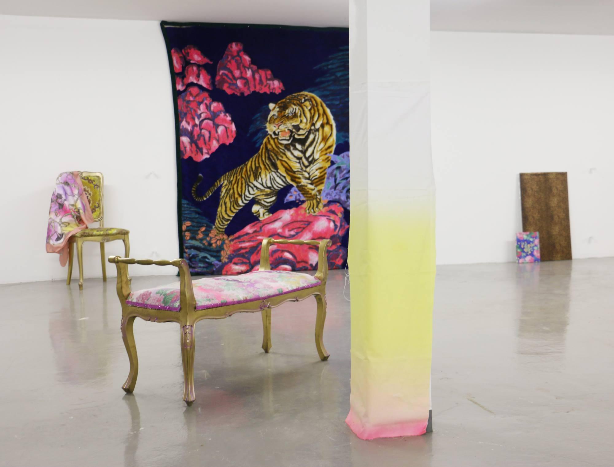 Eva Galtier, Blush .Expoition personnelle à la filature du Mazel.Eva Galtier 201872