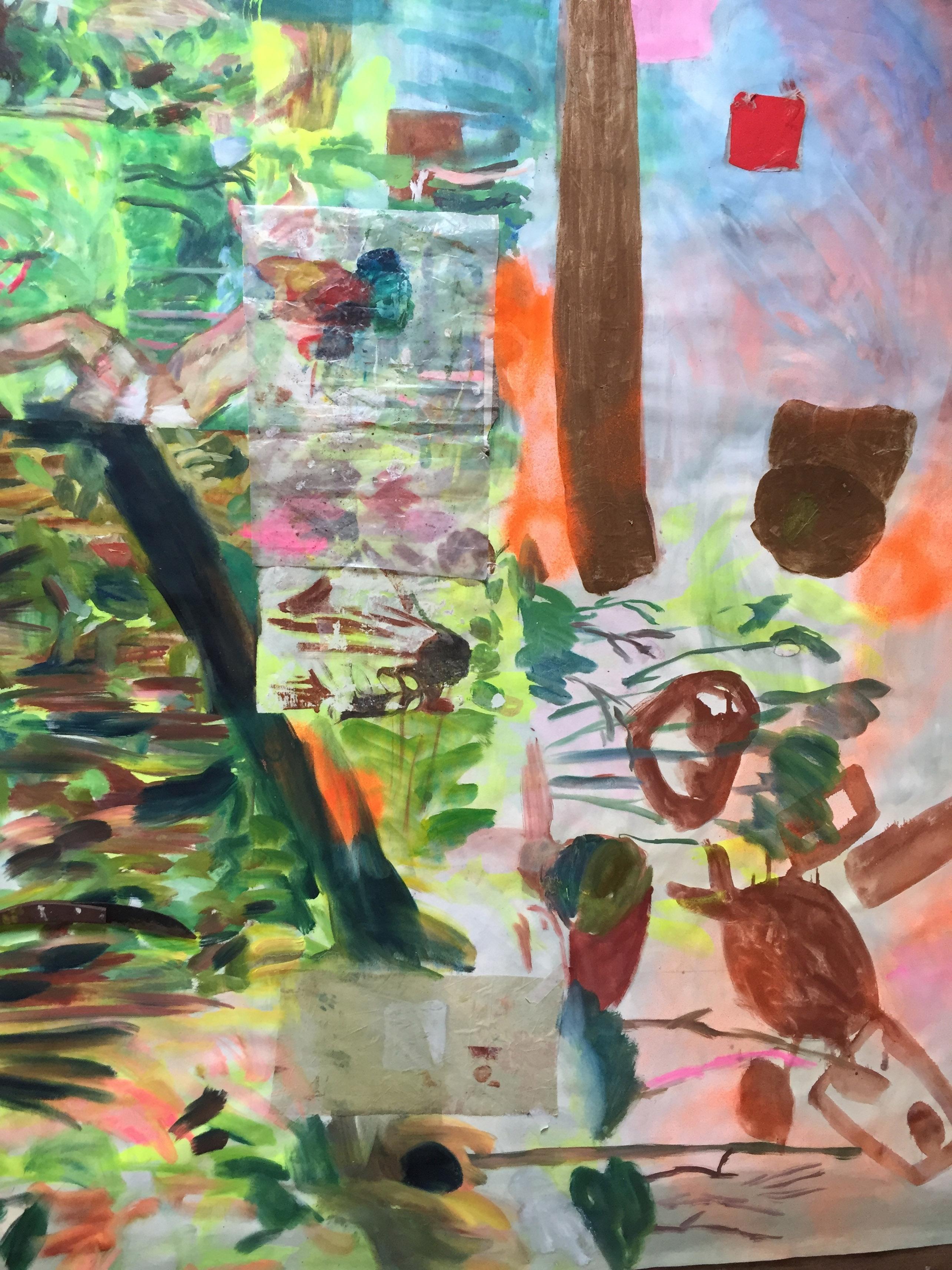 ATELIER n°46-ATELIER IMAGES ACTES LIES-FLORENCELOUISEPETETIN1Sans titre, technique mixte, 190x155cm, 2020