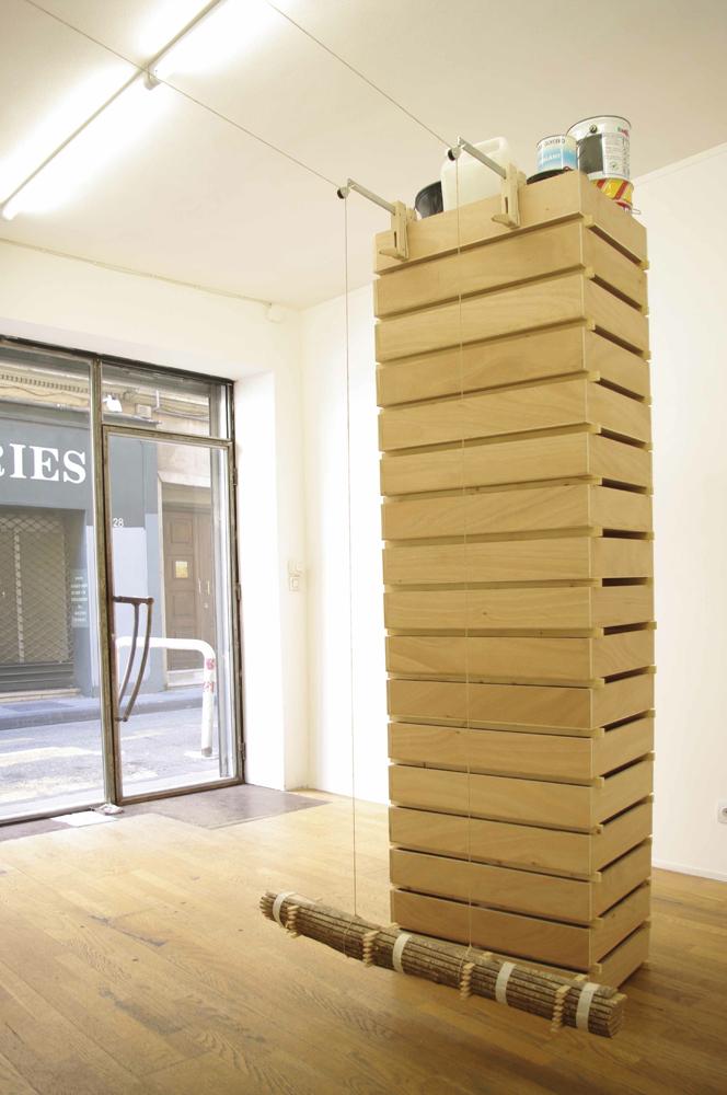 Atelier du Poirier - Gerlinde Frommherz, Le poids des charges 2012