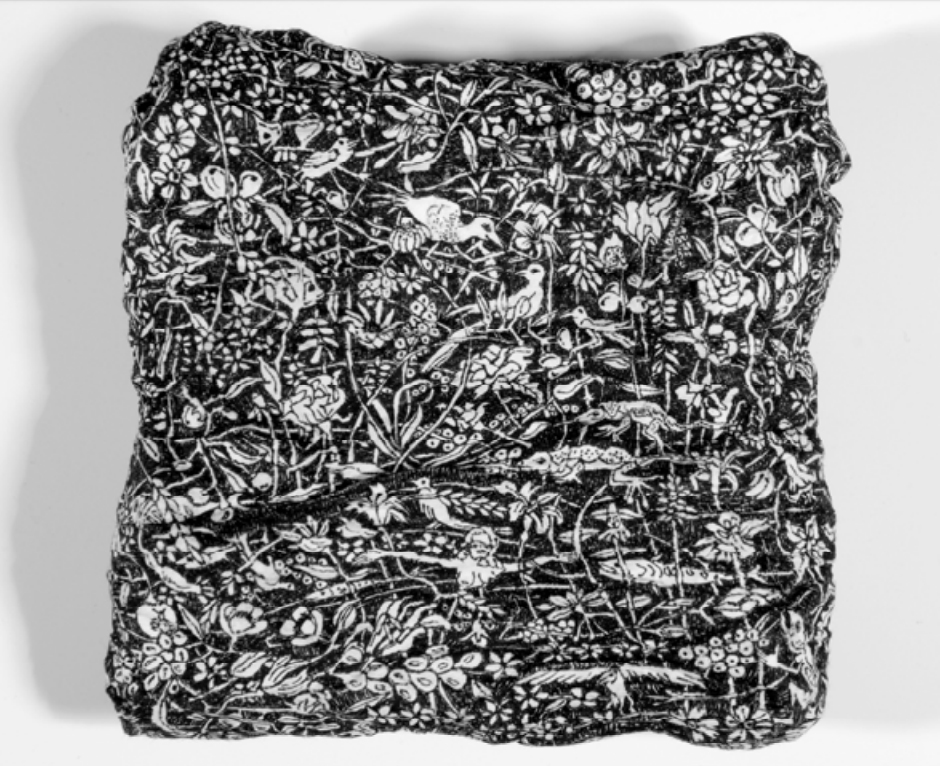 IJ196AF, sériel'attente au crépuscule Encre sur papier, 17x17cm, 07.01