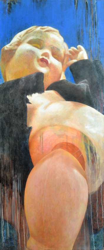 Igor Molina, Crush 1 207,5x86 huile sur toile