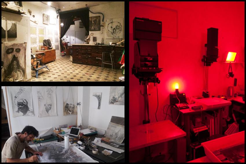 Nicolas Guyot - Peinture photographique - Atelier et chambre noireV2