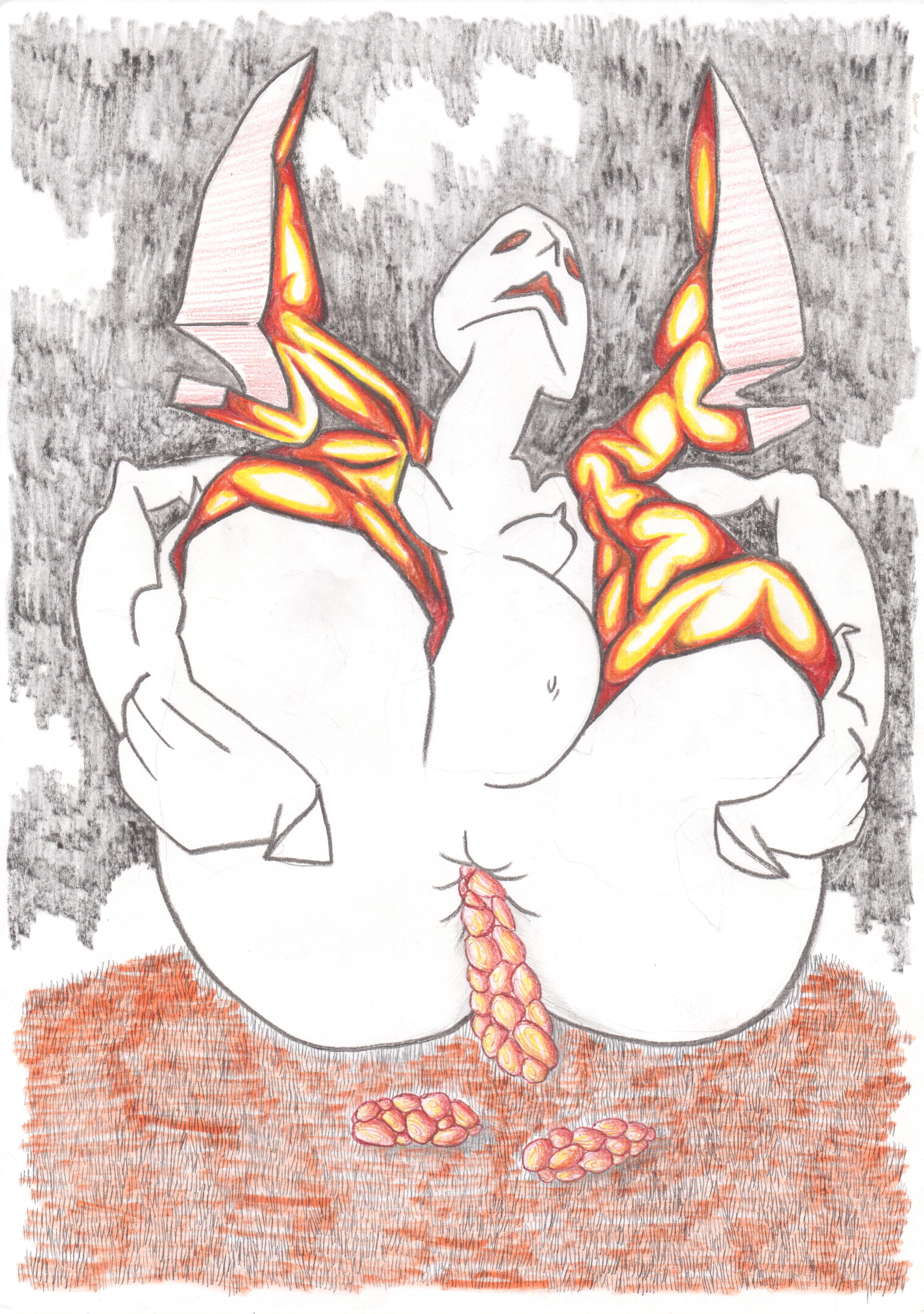 ATELIER N°5-ATELIER PANTHERA-Nicolas PEREZ dessin sur papier _COURT_ techniques mixtes