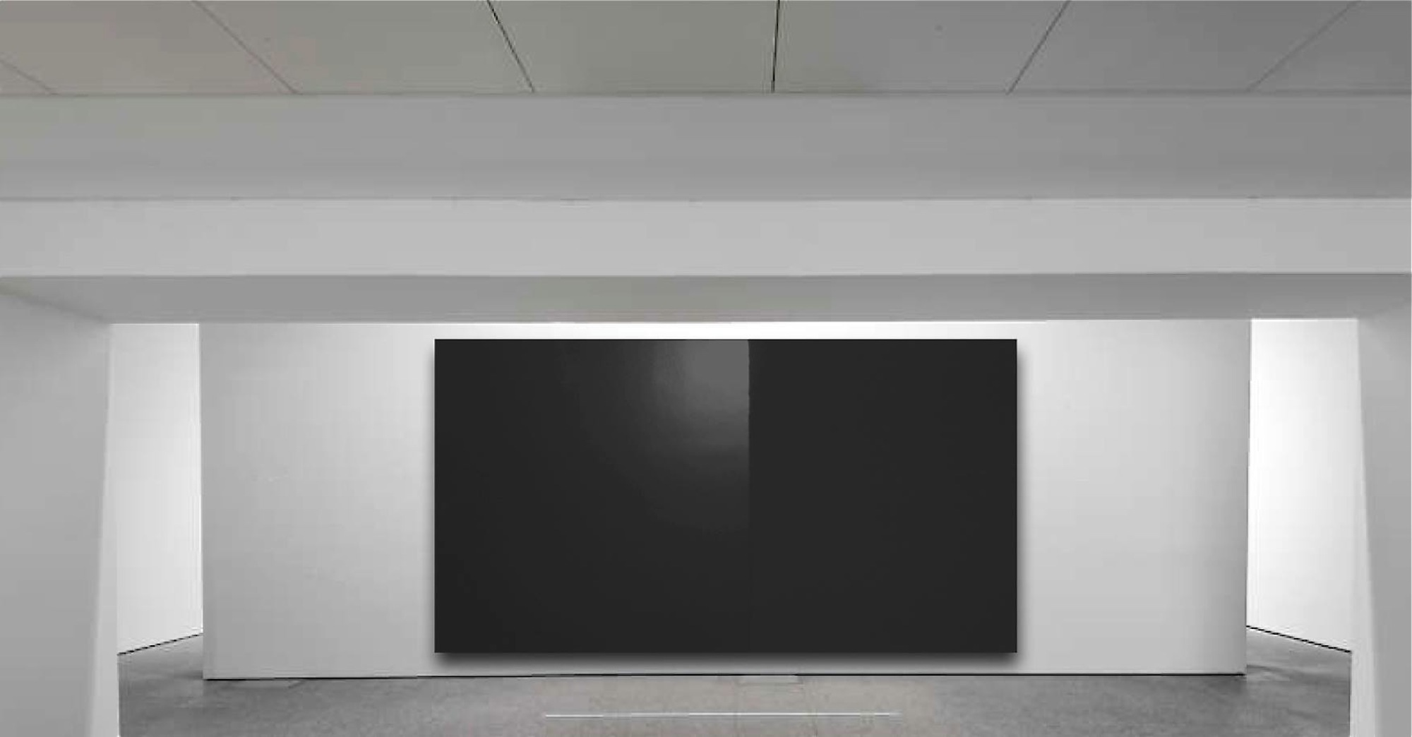 Philippe Chitarrini Sans titre Acrylique mate et glyce_ro satine_e sur toile (200 x 340 x 6 cm) 2017 72 dpi