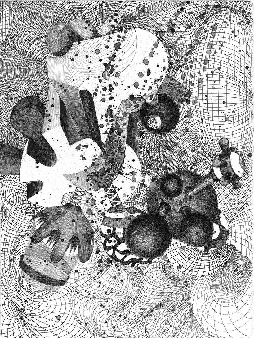 ATELIER n°30-ATELIER 78- Lucie BITUNJAC-Space expanse