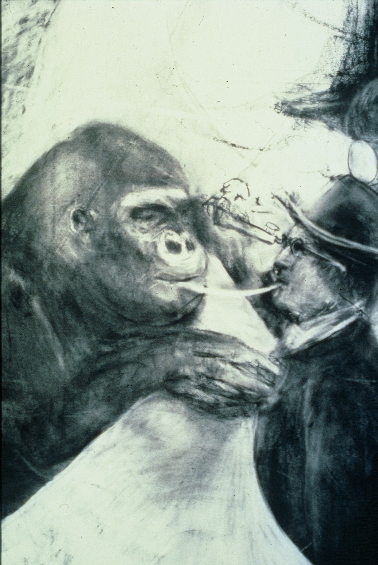 Sylvian Gérard, le souffle,l'autre;Sylvain Gérard 1990 .Photographie Claude Almodovar72
