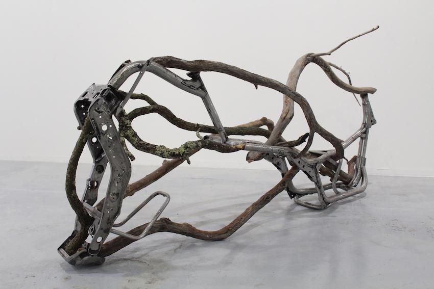 Valentin Martre, Prototype chimérique, 2018 métal et bois