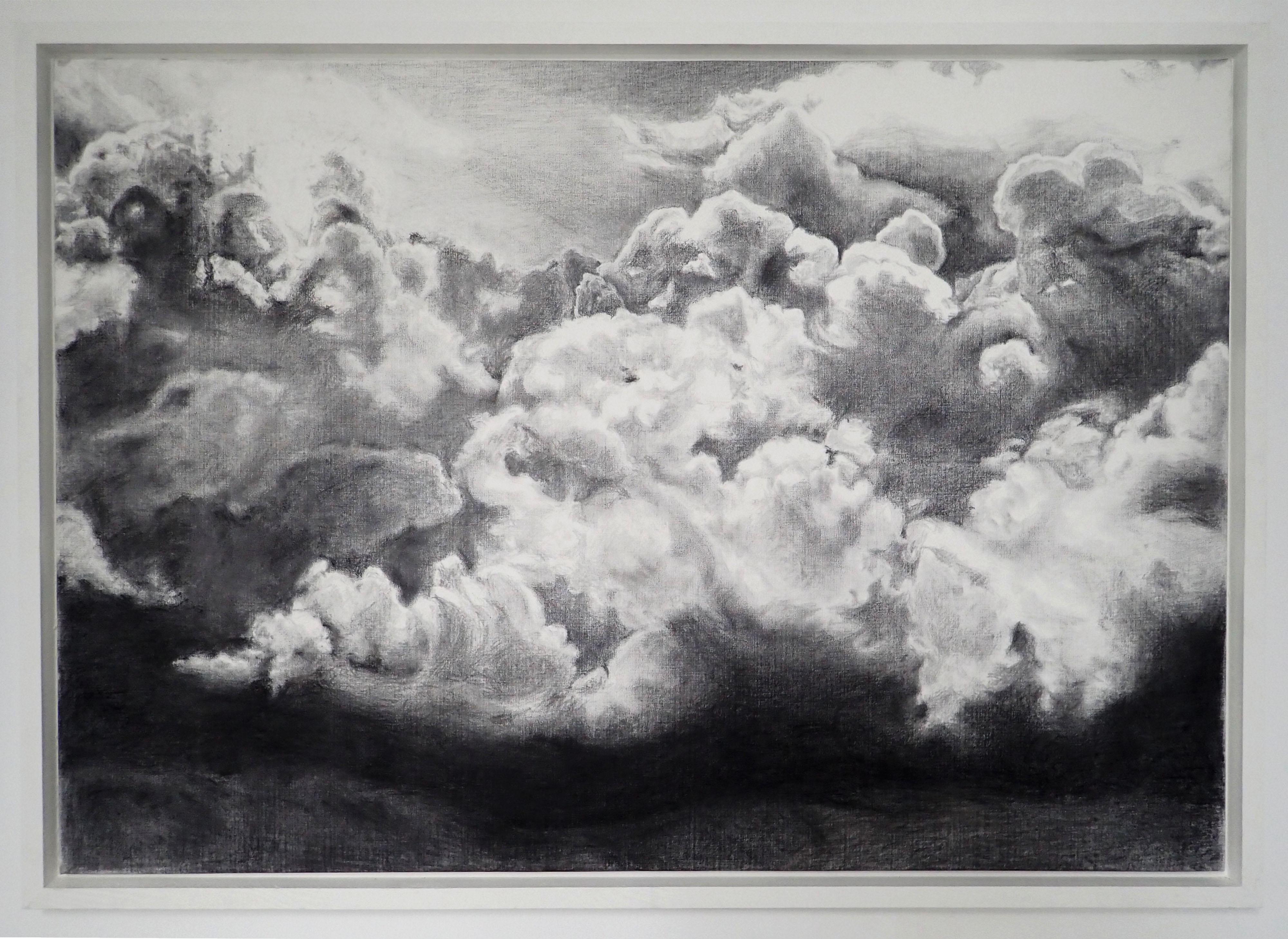 Wendy-VACHAL-Se-miner-crayon-et-graphite-sur-toile-caisse-américaine-130-cm-x-86-cm-2019
