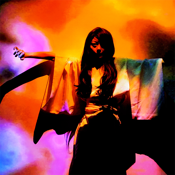 Bertrand Mandico, Yoko Higashi, extrait de la performance TRACE
