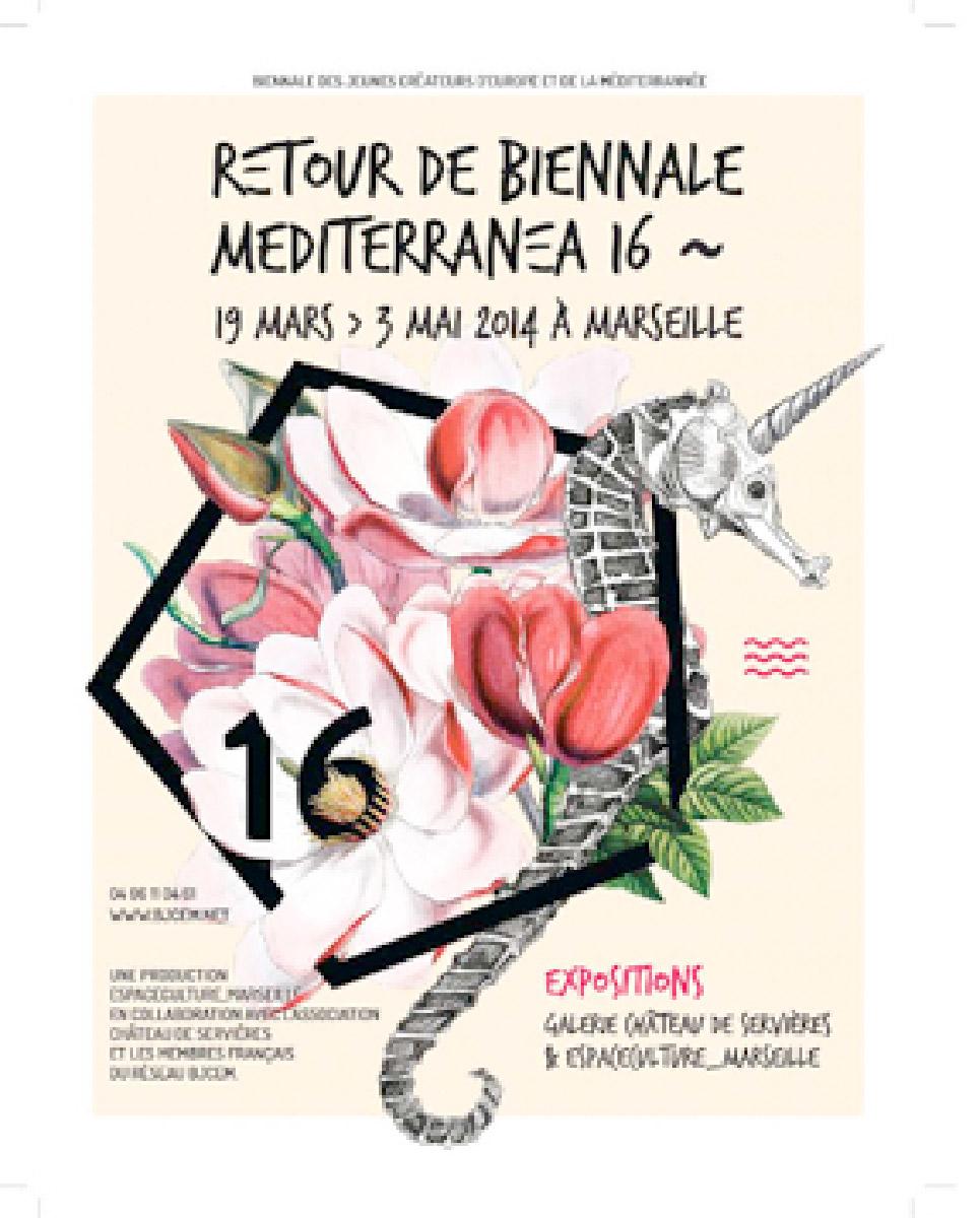 RETOUR DE BIENNALE MEDITERANNEA 16