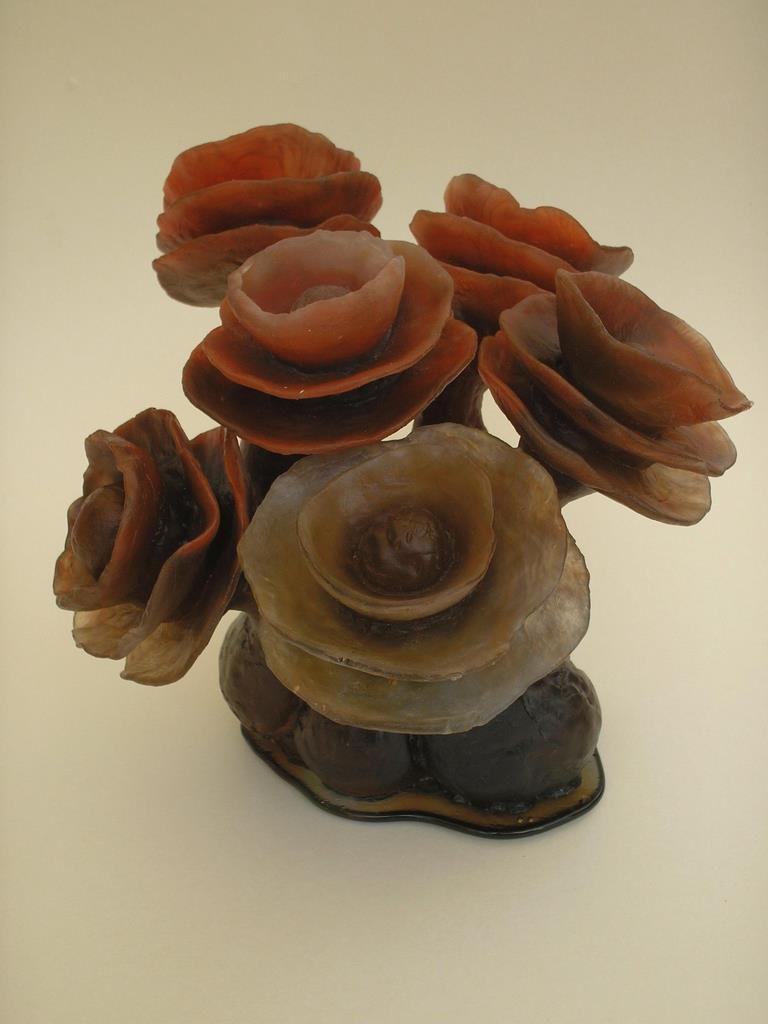flower pate de verre 27 x 30 cm 72 dpi