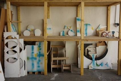 Atelier La Fosse - Laurence Lagier, Vue d'atelier ©Ariadne Breton Hourcq