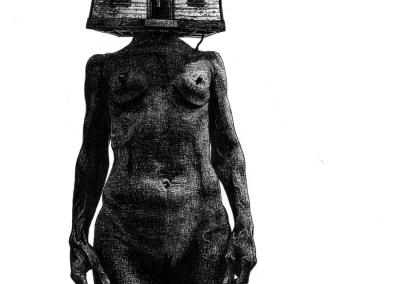 Toufik Medjamia - Piment noir art-studio
