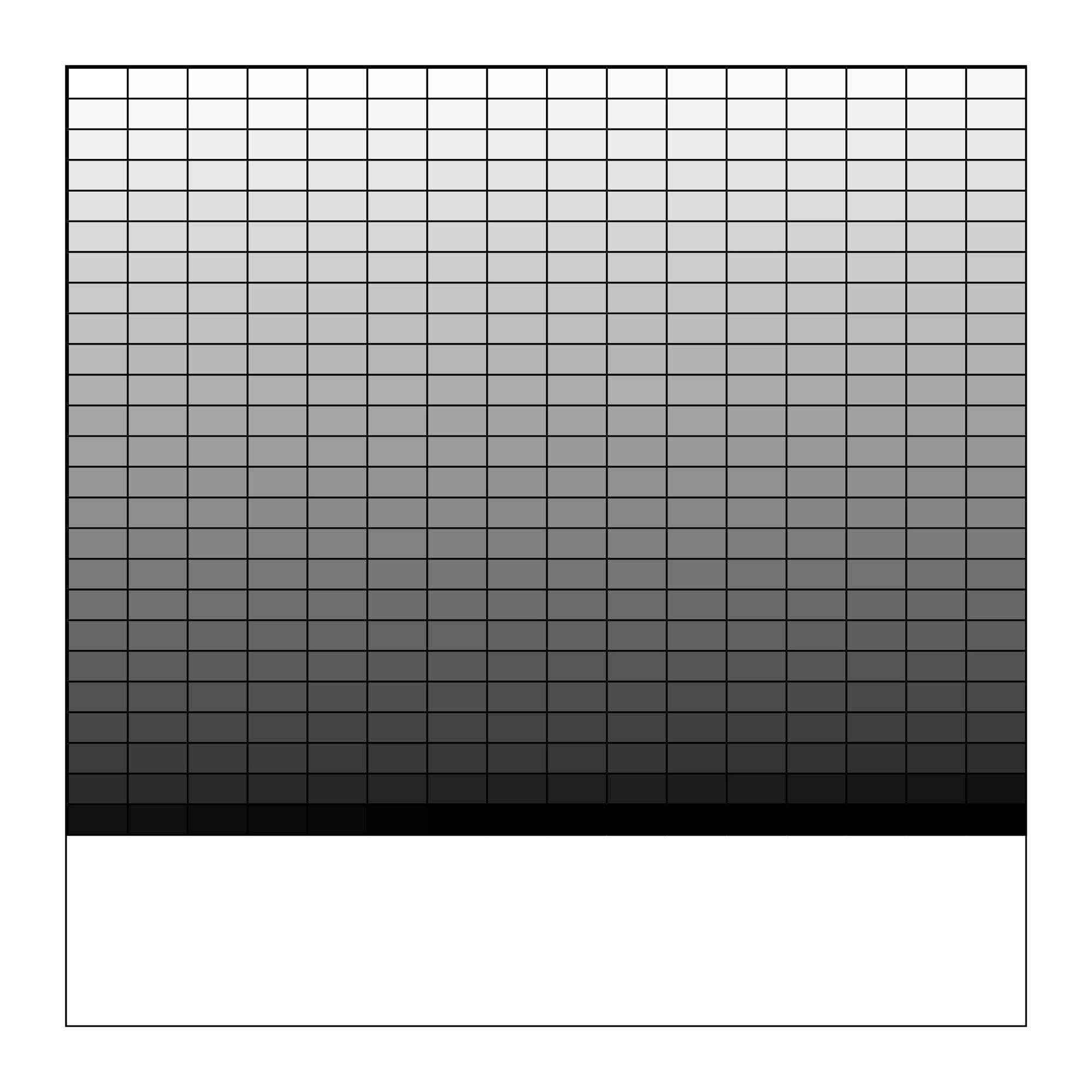 wendy Vachal, Tableau relationnel, 256 nuances de gris. Dessin numérique, 2018 72dpi